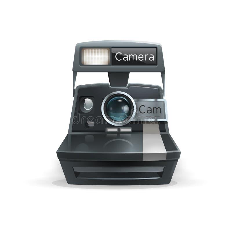 kamery realistyczny cyfrowy również zwrócić corel ilustracji wektora royalty ilustracja