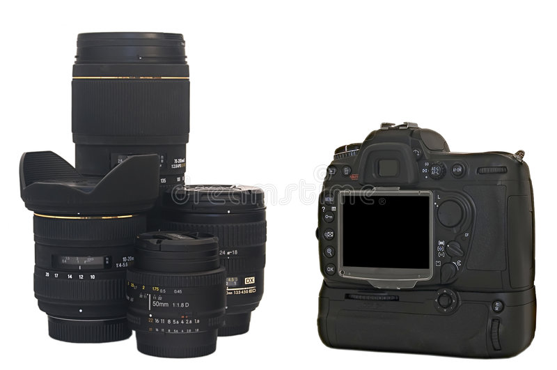 kamery slr zdjęcia stock