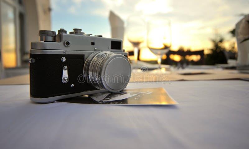 kamery stary fotografii rosjanin fotografia royalty free
