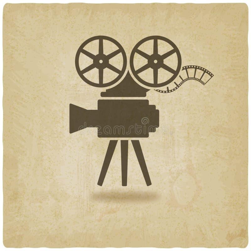 Kamery stary tło ilustracji