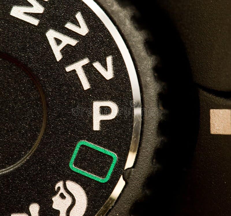 kamery tarczy tryb zdjęcia stock