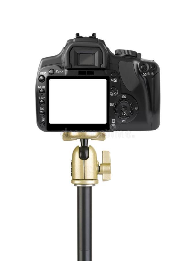 kamery tripod zdjęcie royalty free