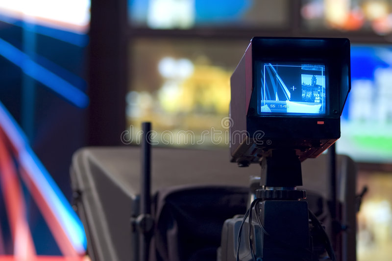 kamery wideo wizjer fotografia stock