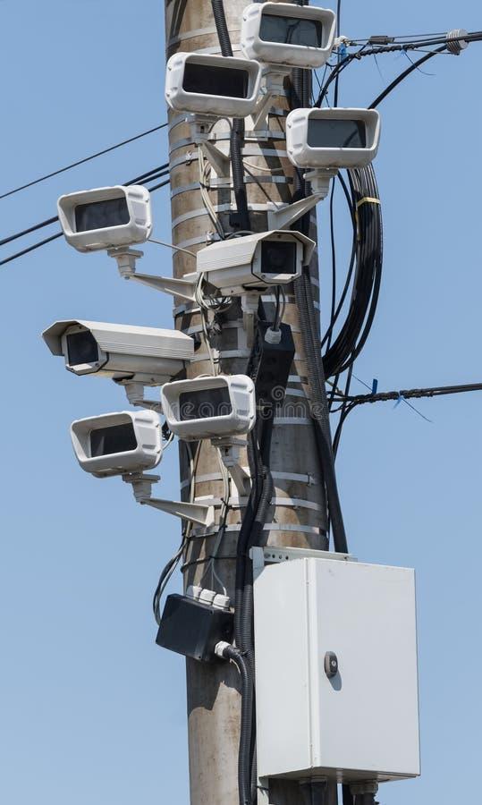 Kamery wspinają się na poczta obraz royalty free