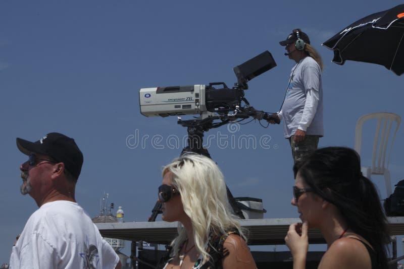 kamerzystów widzowie fotografia stock