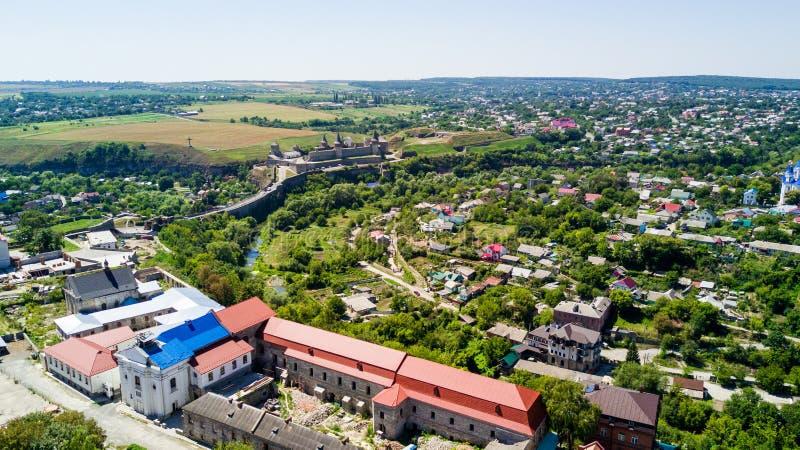 无��il�+i�k�_kamianets-podilskyi,乌克兰- 2017年8月 kamianets-podilskyi市看法