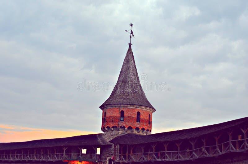 Kamianets-Podilskyi fortress royalty free stock image