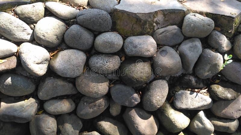 Kamień ściany tło zdjęcia stock