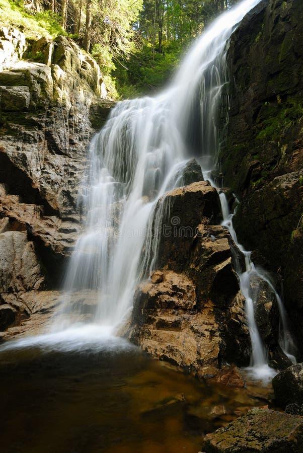 Kamieńczyk Waterfalls royalty free stock photo