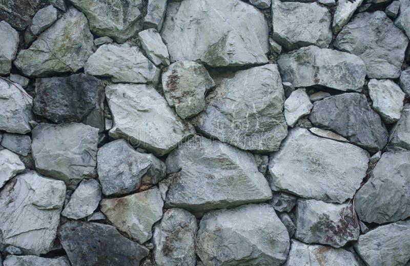 Kamień ściana zdjęcia royalty free