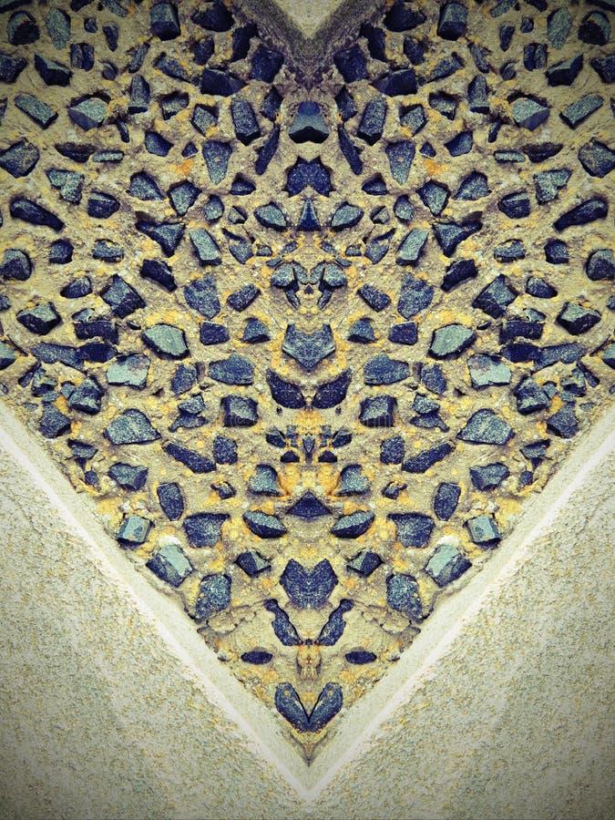Kamień ściany abstrakt obrazy royalty free