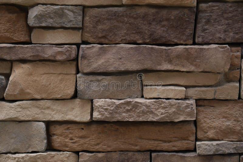 Kamień ściany tekstura zdjęcie stock