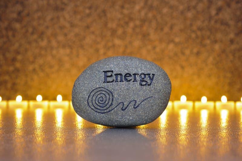 Kamień energia obraz royalty free