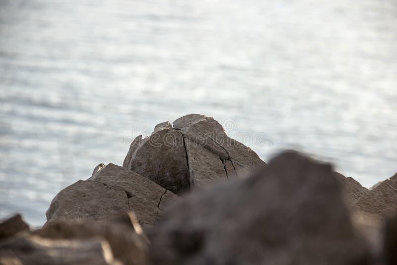 Kamień na Enisey zdjęcia royalty free