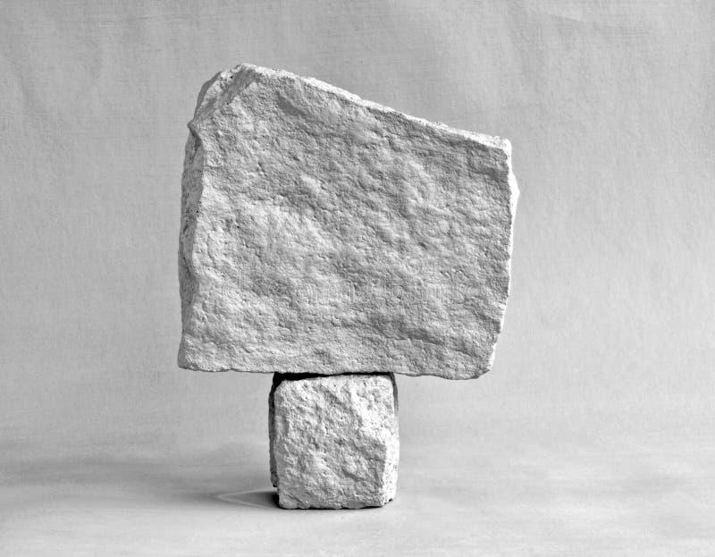 Kamień na kamieniu zdjęcie royalty free