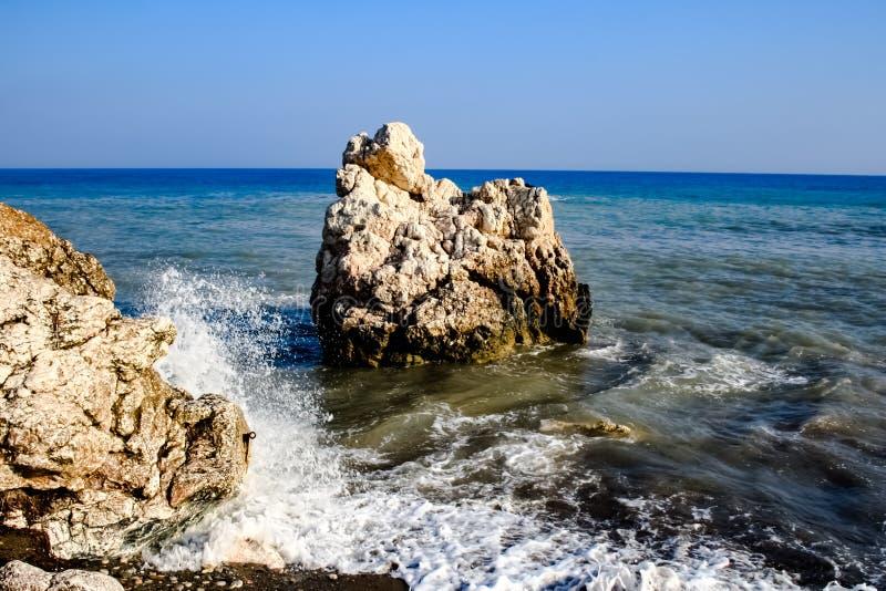 Kamień na plaży fotografia stock