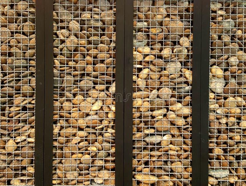 Kamień w klatce obrazy stock