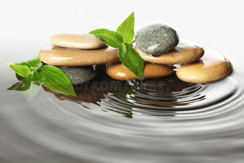 kamień woda zdjęcie stock