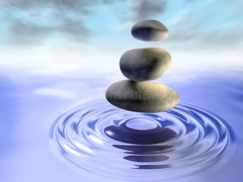 kamień woda