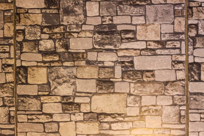 Kamieni bloki Bezszwowa Dachówkowa sprawnie tekstura zdjęcie royalty free