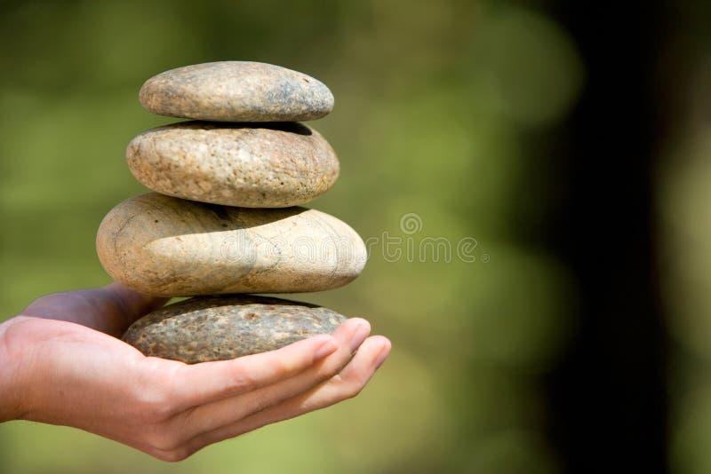 kamienia brogujący zen obraz royalty free