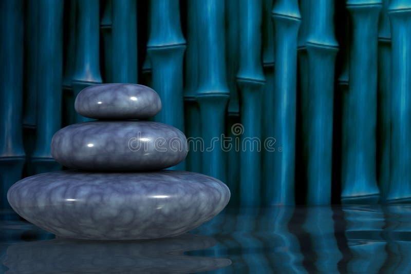 Kamienia zrównoważony abstrakt obraz royalty free