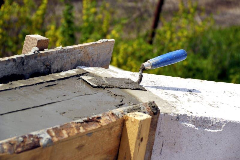 Kamieniarstwo ściany wietrzący beton zdjęcia stock