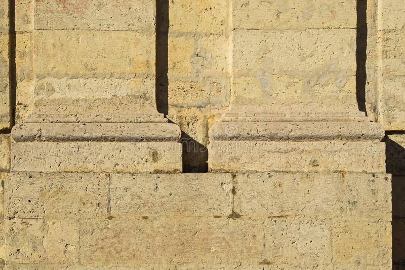 Kamieniarstwo wielki Gatchina pałac kasztel Rosyjscy cesarzi zdjęcia stock