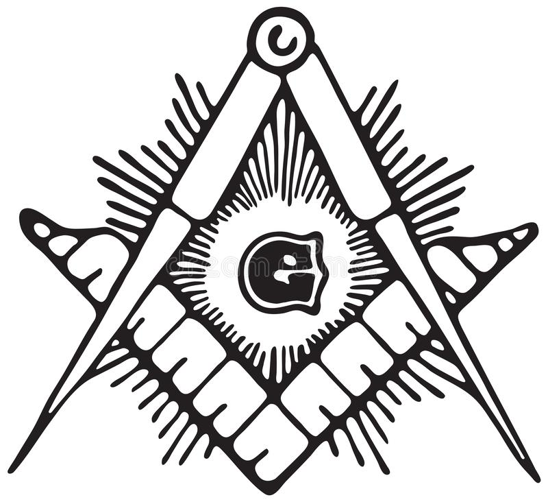 Kamieniarza symbol ilustracji