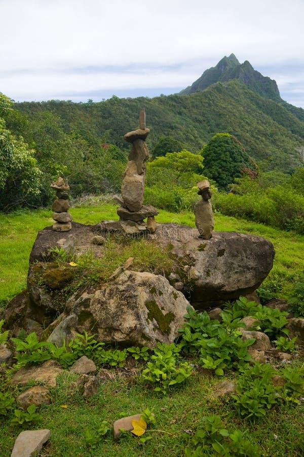 kamienie hawajczyków fotografia stock