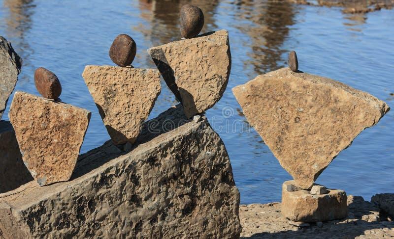 Kamienie Jak Ludzie fotografia stock