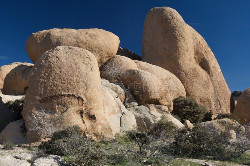 kamienie na pustyni fotografia stock