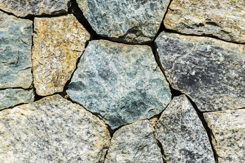 Kamienie układają w prostokątnym fotografia royalty free