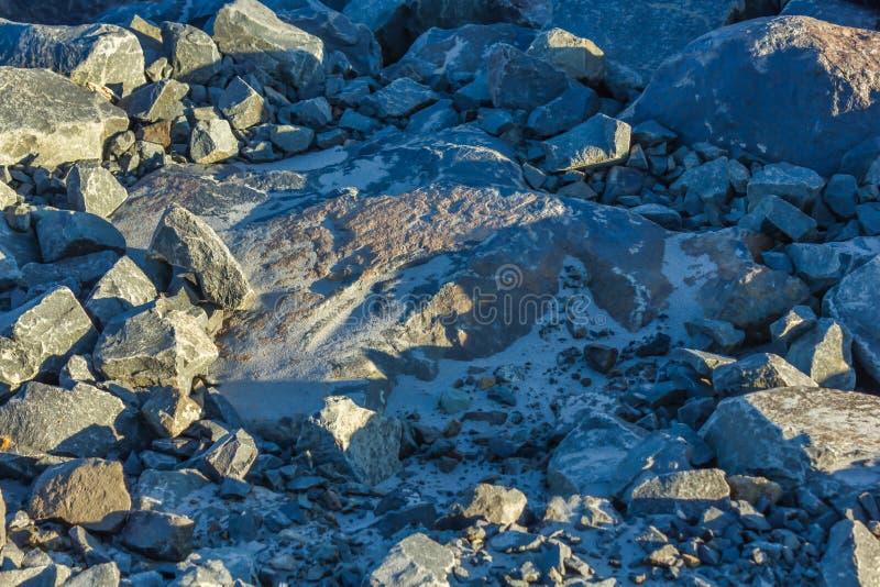 Kamienie z kamieniami zdjęcia royalty free