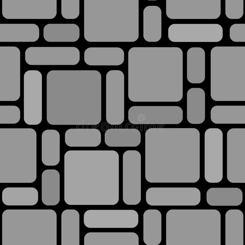 kamienna ściana ilustracji