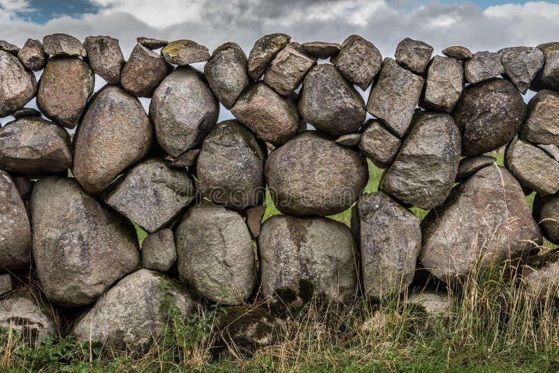 Kamienna ściana w Północnym - Ireland zdjęcie stock