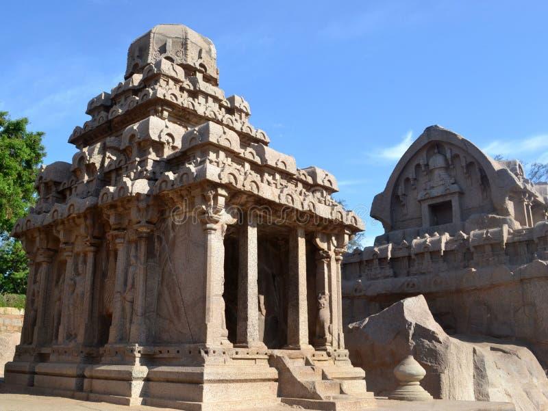 kamienna świątynia obraz stock