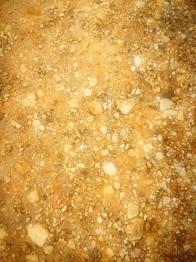 Kamienna kruszka, skalista ziemia obrazy stock