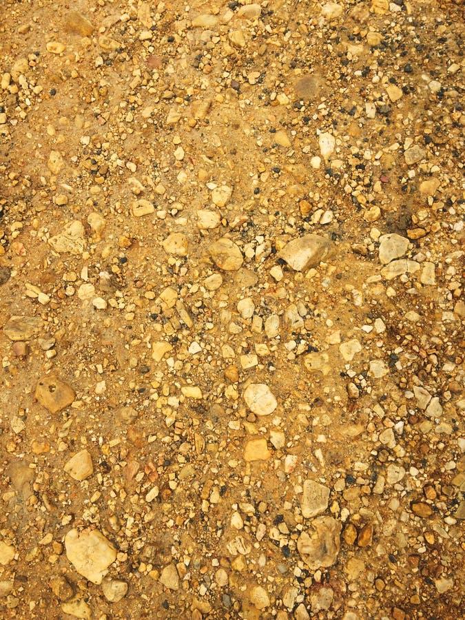 Kamienna kruszka, skalista ziemia zdjęcia royalty free