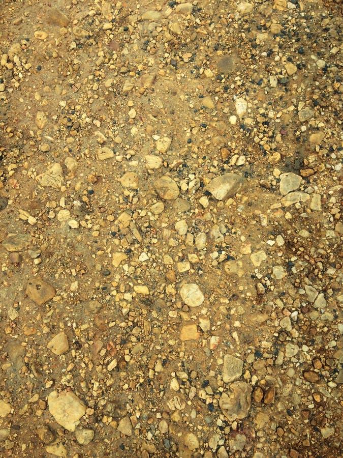 Kamienna kruszka, skalista ziemia zdjęcie stock