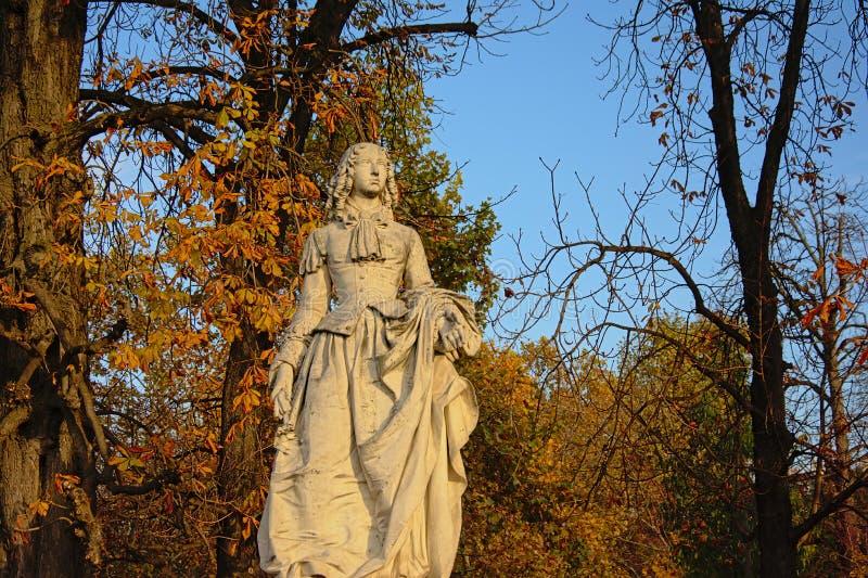 Kamienna rzeźba Anne Maria Louise d ` Orléans, Duchess Montpensier zdjęcie stock