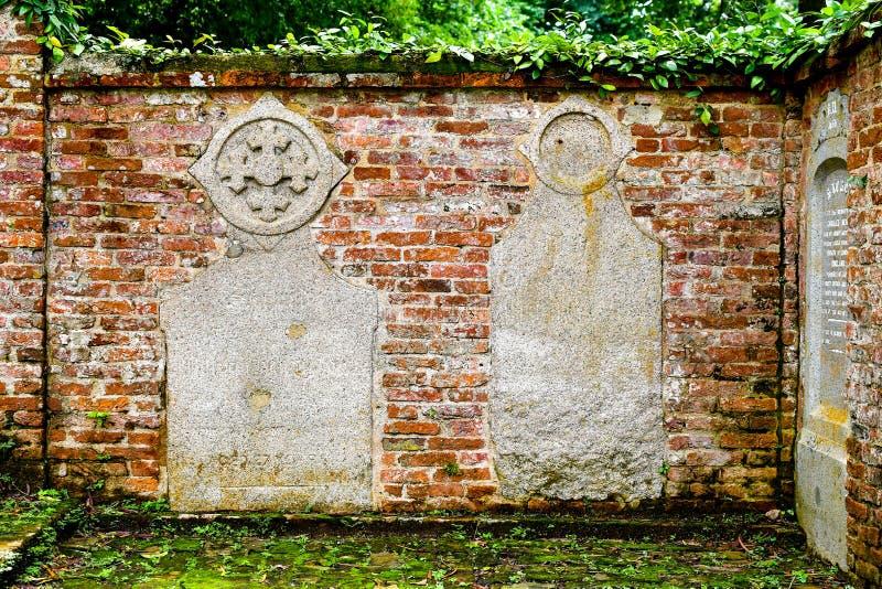 Kamienne reliefowe czerwone cegły obrazy royalty free
