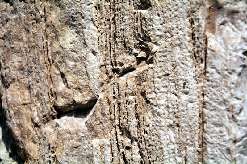 Kamiennej ściany rocznika abstrakcjonistyczny tło, bzdury i dziury, abstrakcjonistyczny tło obraz stock