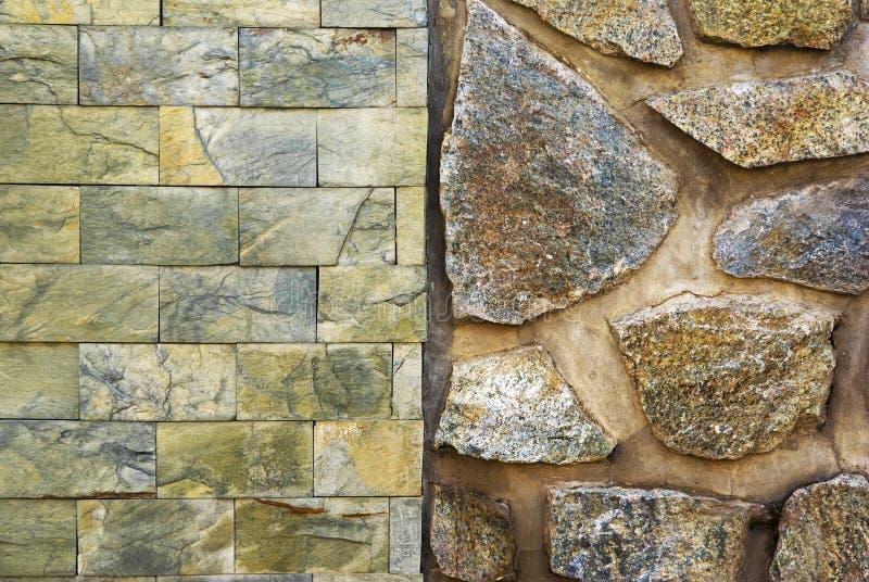 Kamiennej ściany tekstura zdjęcie stock