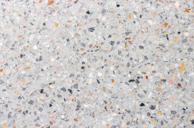 Kamiennej ściany tekstura, lastryko podłoga tło zdjęcie royalty free