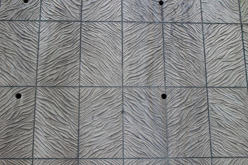 Kamiennej ściany wzór przy drzwi out obraz stock