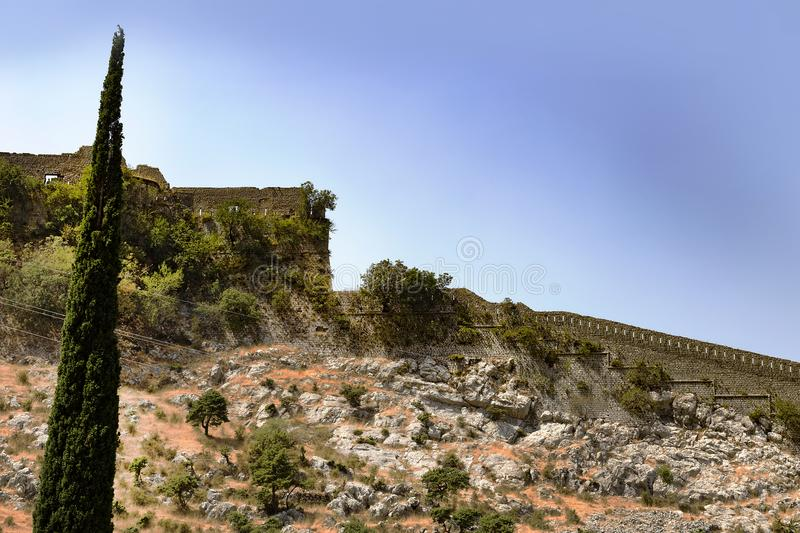Kamienni budynki obrazy royalty free