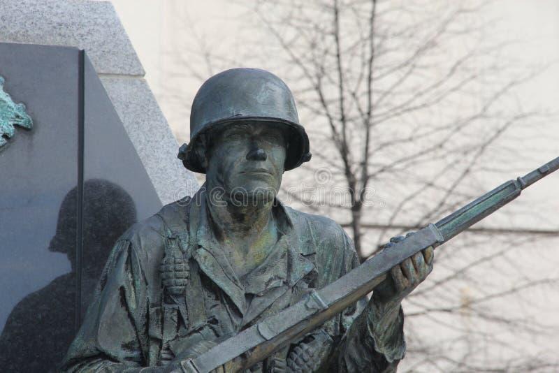 Kamienny żołnierz obraz stock
