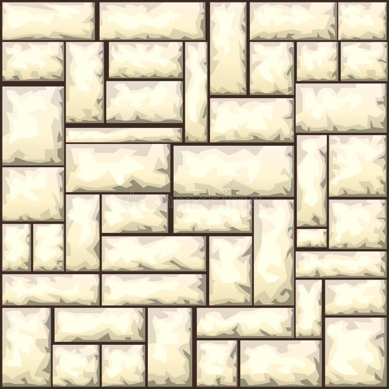 Kamienny bezszwowy wzór ilustracji