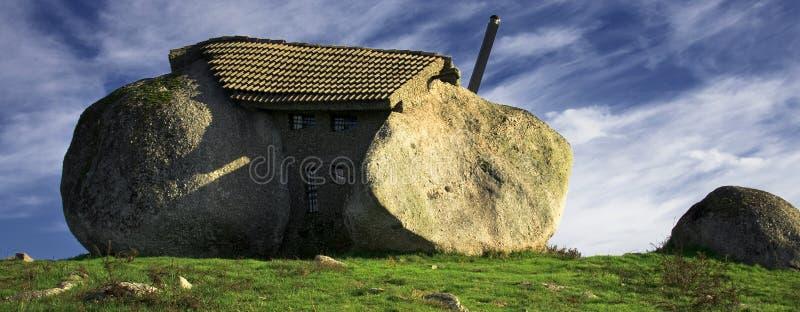 Kamienny dom zdjęcie stock